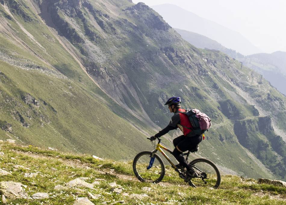 Explore the tracks and trails by bike