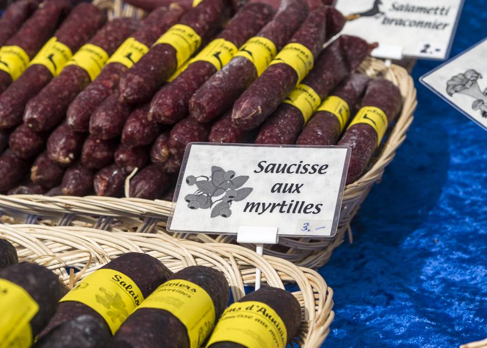 Award winning local dried sausages
